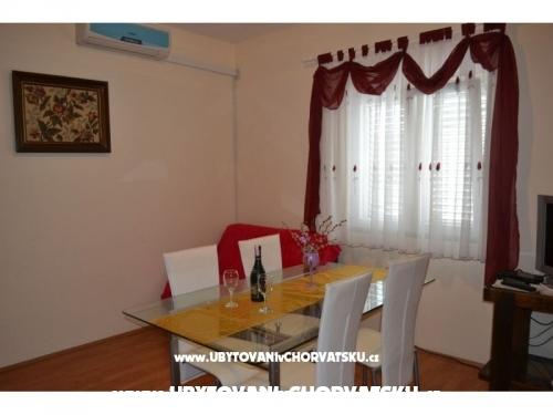 Apartmány Mladenka - Sukošan Chorvatsko