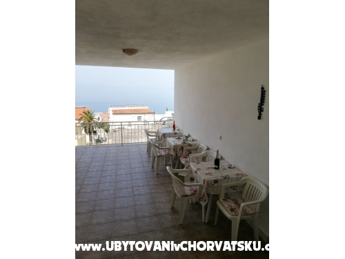 Apartmány Aniko Šarić - Tučepi Chorvatsko