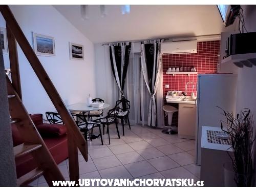 Apartmány Tucepi Jakić - Tučepi Chorvatsko