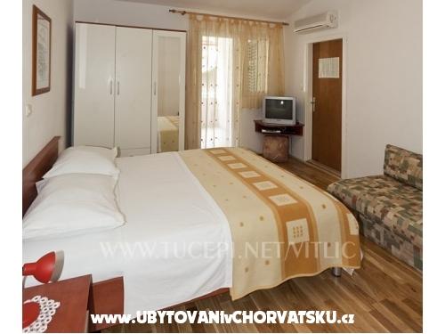 Apartmány Vitlić - Tučepi Chorvatsko