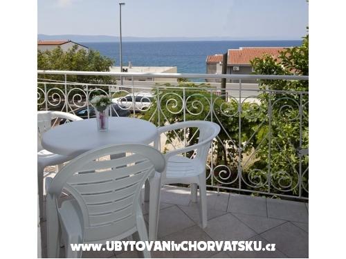 Apartmány Marija Saric - Tučepi Chorvatsko