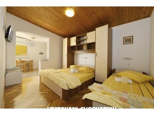 Apartmaji Mijačika - Tučepi Hrvaška