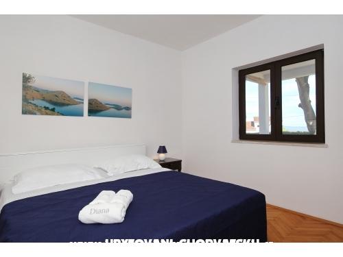 Apartmaji Diana **** - ostrov Ugljan Hrvaška