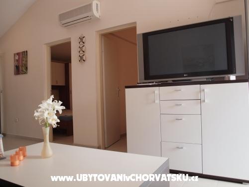 Appartements Delfin - ostrov Vir Croatie
