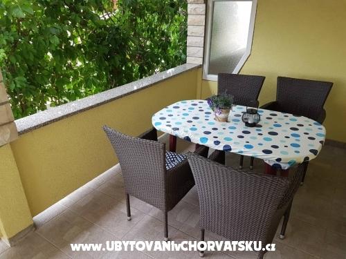 Apartmány Dalija - ostrov Vir Chorvatsko