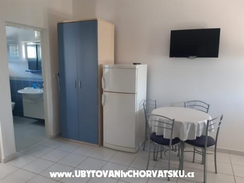 Apartmány Fegeš - ostrov Vir Chorvatsko
