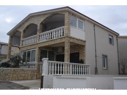Apartmani Gronen - ostrov Vir Hrvatska