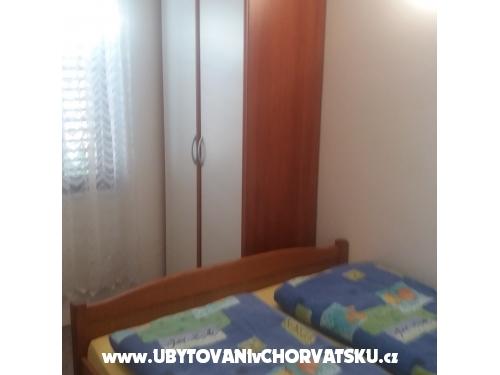 Apartmanok Klara - ostrov Vir Horvátország