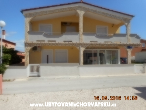 Appartements Topalovic - ostrov Vir Croatie