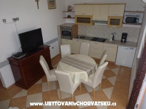 Apartmanok Vlašić otok Vir - ostrov Vir Horvátország