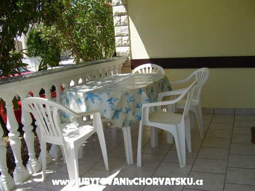 Apartmány Barica - ostrov Vir Chorvatsko