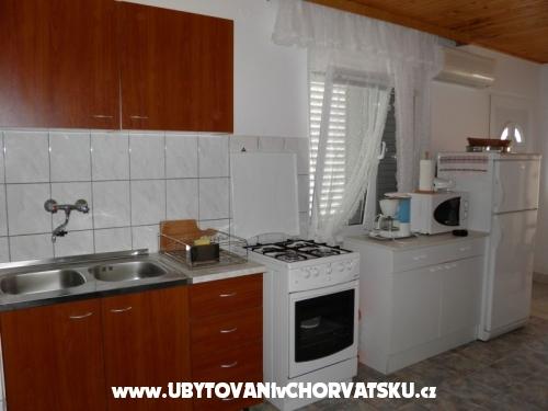 Apartmány Plaža - ostrov Vir Chorvatsko