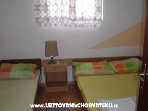 Apartmány Pogacic - ostrov Vir Chorvatsko