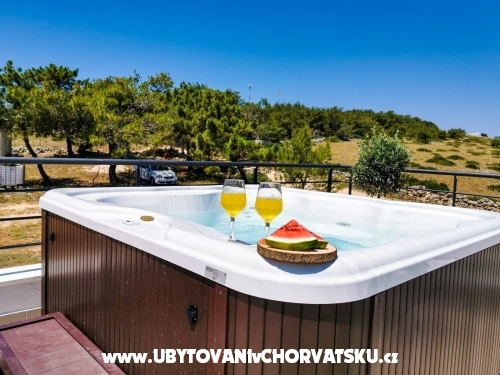 Dům k odpočinku Diana +pool+jacuzzi - ostrov Vir Chorvatsko