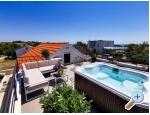 Ferienhaus Diana +pool+jacuzzi - ostrov Vir Kroatien