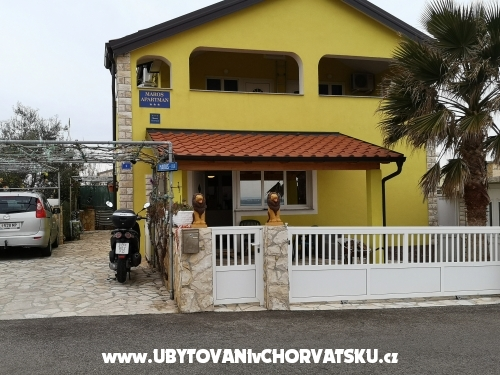 Maros apartments - ostrov Vir Croatie