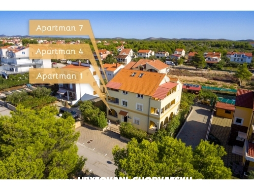 Apartments Dimač - Vodice Croatia