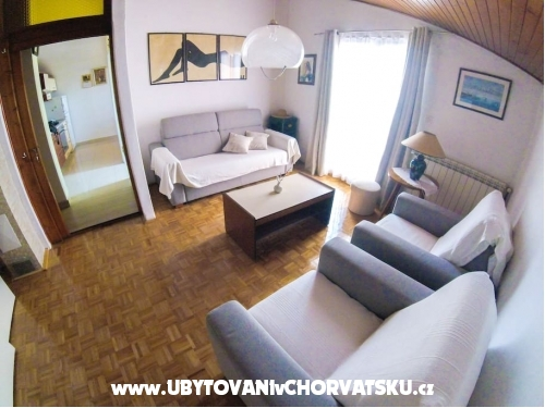 Apartmány latin - Vodice Chorvatsko