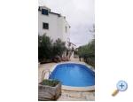 Penthouse mit Pool Ruža - Vodice Kroatien