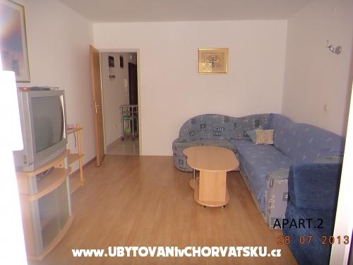 Apartmány Dragičević - Zaostrog Chorvátsko