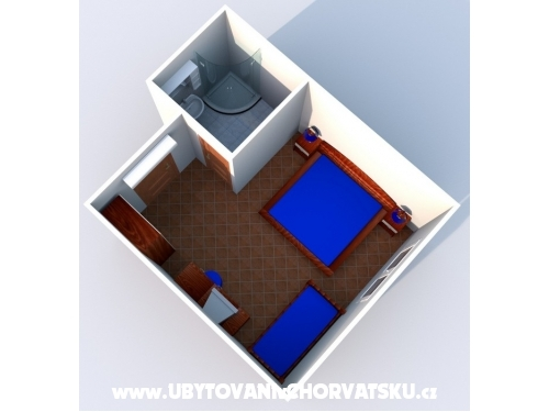 Apartamenty Nike - Zaostrog Chorwacja