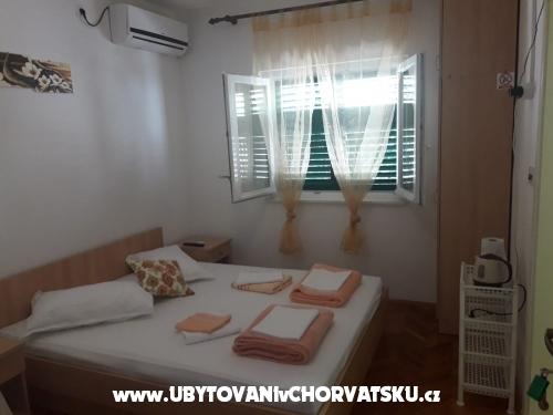 Apartmány Pirak - Zaostrog Chorvátsko