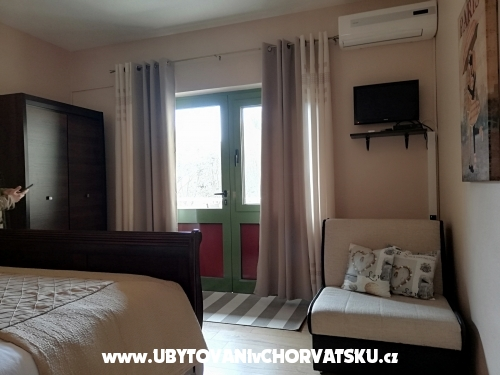 Apartmaji California - Zaton Hrvaška
