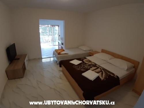 Apartmány Jukić - Živogošče Chorvátsko