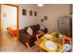 Appartements u dvou palem - Živogošče Kroatien