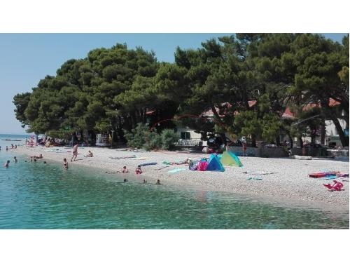Family house na plaži - Živogošče Hrvatska
